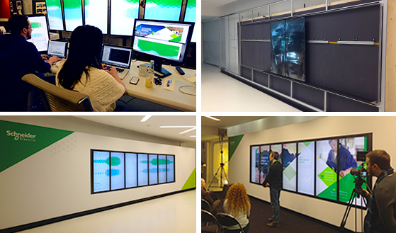 Schneider Electric Touch Wall